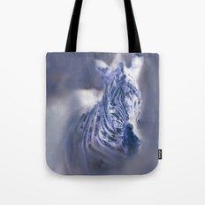 Zebra Oil Tote Bag