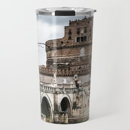 castel sant angelo in rome Travel Mug