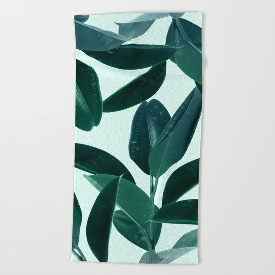 Plant Dynamics Beach Towel