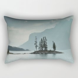 Obscured Thoughts Rectangular Pillow