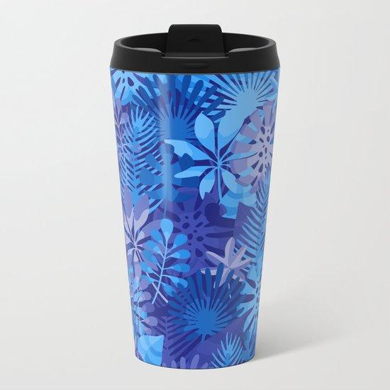 Foliage Disguise Metal Travel Mug