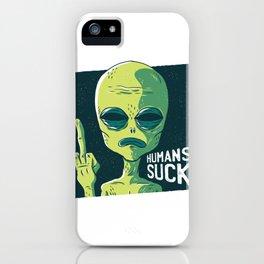 Humans Suck Cool Design iPhone Case