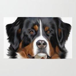 BERNESE MOUNTAIN DOG ART Rug