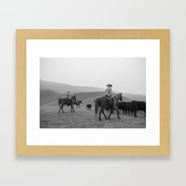 Ranch Four Framed Art Print