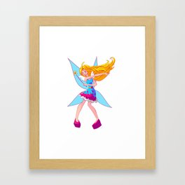 Heart Fairy! Framed Art Print