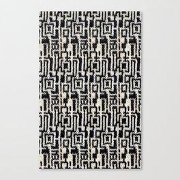 Maze Knit Canvas Print