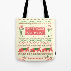 A Christmas Sweater Tote Bag