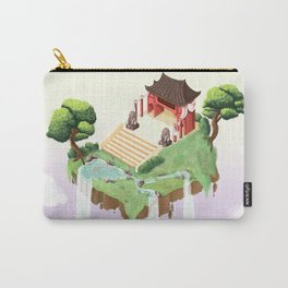 Temple in the sky Carry-All Pouch