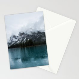 Smokey Mountains Landscape Photography Alberta Stationery Cards