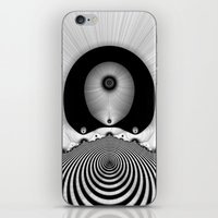 focus iPhone & iPod Skins featuring Focus by Christy Leigh