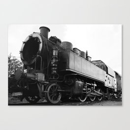 old steam locomotive Canvas Print