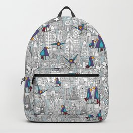 birds and rockets Backpack