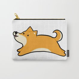 Blonde Shiba Inu Carry-All Pouch