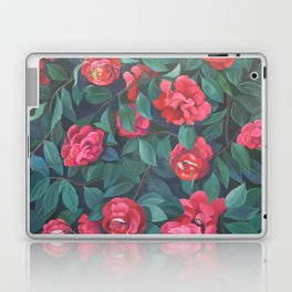 Camellias, lips and berries. Laptop & iPad Skin