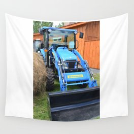 New Holland Workmaster 75 Tractor  2 Wall Tapestry