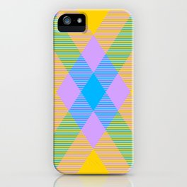 Tartan Pattern 8 iPhone Case