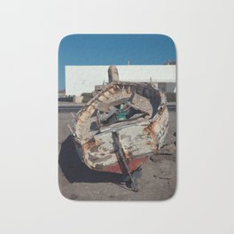 Old Fishing Boat Bath Mat
