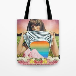 Internal Rainbow II Tote Bag