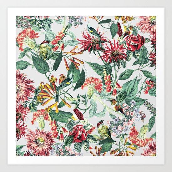 Botanical Garden II Art Print