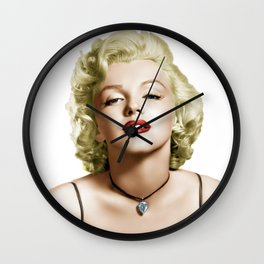 Marilyn 2 Wall Clock