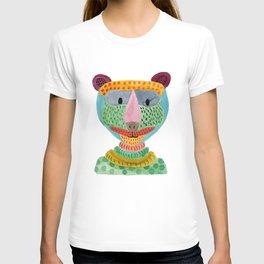 Cute Bear Watecolor T-shirt