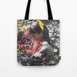 she's being  Tote Bag