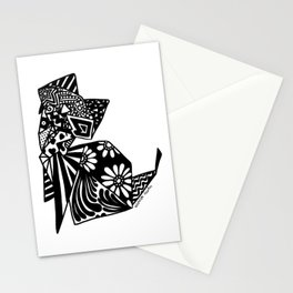 Cat Origami Stationery Cards