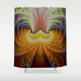 Unfurling Better Days Shower Curtain