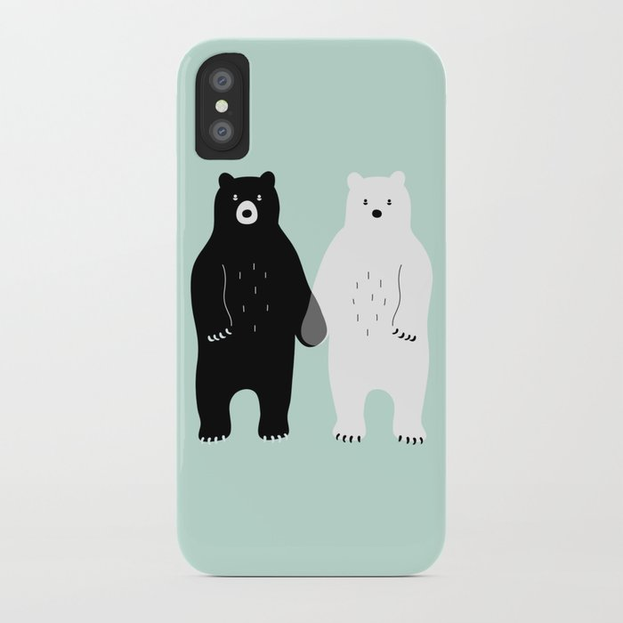 Gray iPhone Case