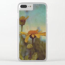 The beauty of simple things Clear iPhone Case