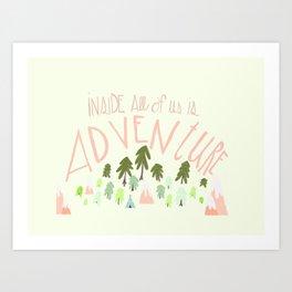 Adventurers Art Print