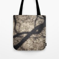 shadow Tote Bags featuring Shadow by Maria Heyens