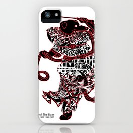 Chinese zodiac sign, Year of the Boar iPhone Case