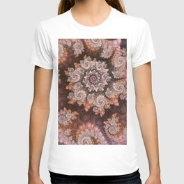 Back To The Roots, Abstract Fractal Art T-shirt