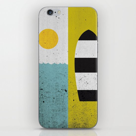 Sun & Board iPhone & iPod Skin