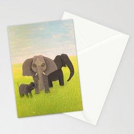 Elephant Picnic Stationery Cards