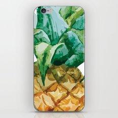 Pineapple , tropical , hawaii , summer , fruit , iPhone Skin