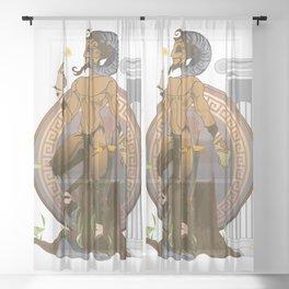 Pan Sheer Curtain