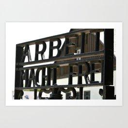 Dachau, Germany Art Print