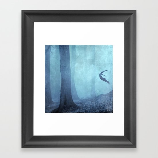 free spirit II Framed Art Print