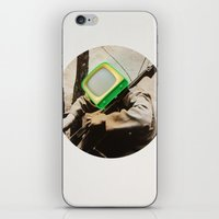 bass iPhone & iPod Skins featuring Bass TV by Marko Köppe