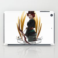 monster hunter iPad Cases featuring Steampunk Occupation Series: Monster Hunter by kortothecore