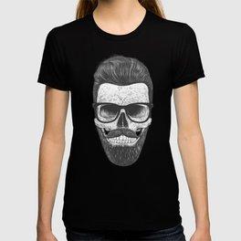 Hipster Skull T-shirt
