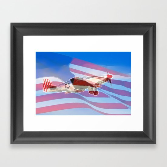 American Pride Framed Art Print