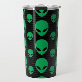 Aliens Exist Travel Mug