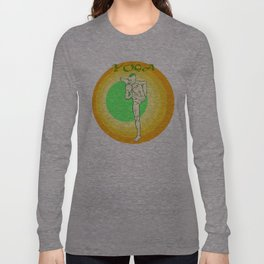 Yoga: asana Long Sleeve T-shirt