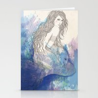 pisces Stationery Cards featuring Pisces by katiwo