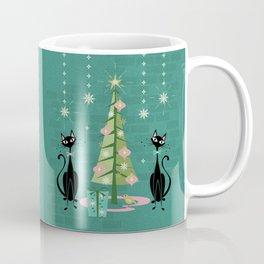 Vintage Kitty Christmas  Coffee Mug