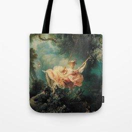 Jean Honore Fragonard The Swing Tote Bag