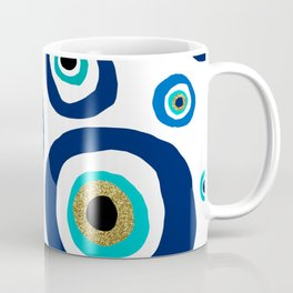 Evil eye nazar نظر amulet design Coffee Mug